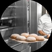 panettiere pane e farina