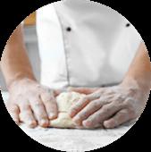 piazzaiolo impasta pizza e farina